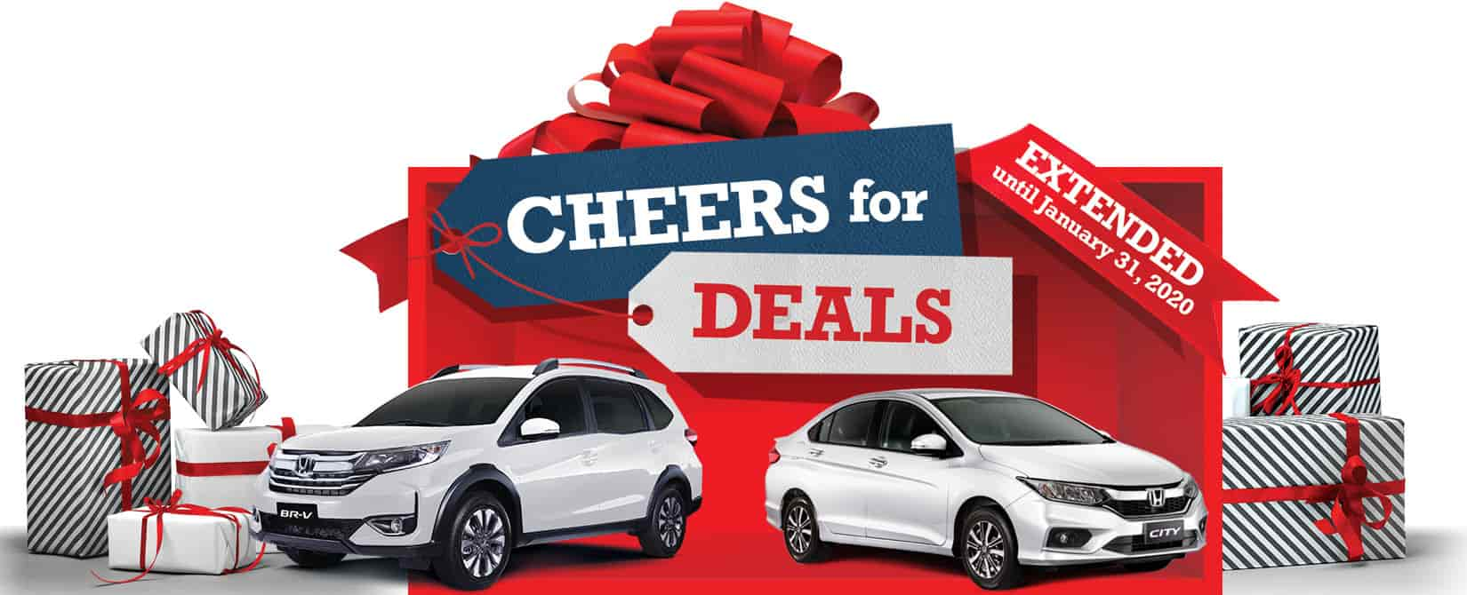 Honda Extends Holiday Promos this January 2020