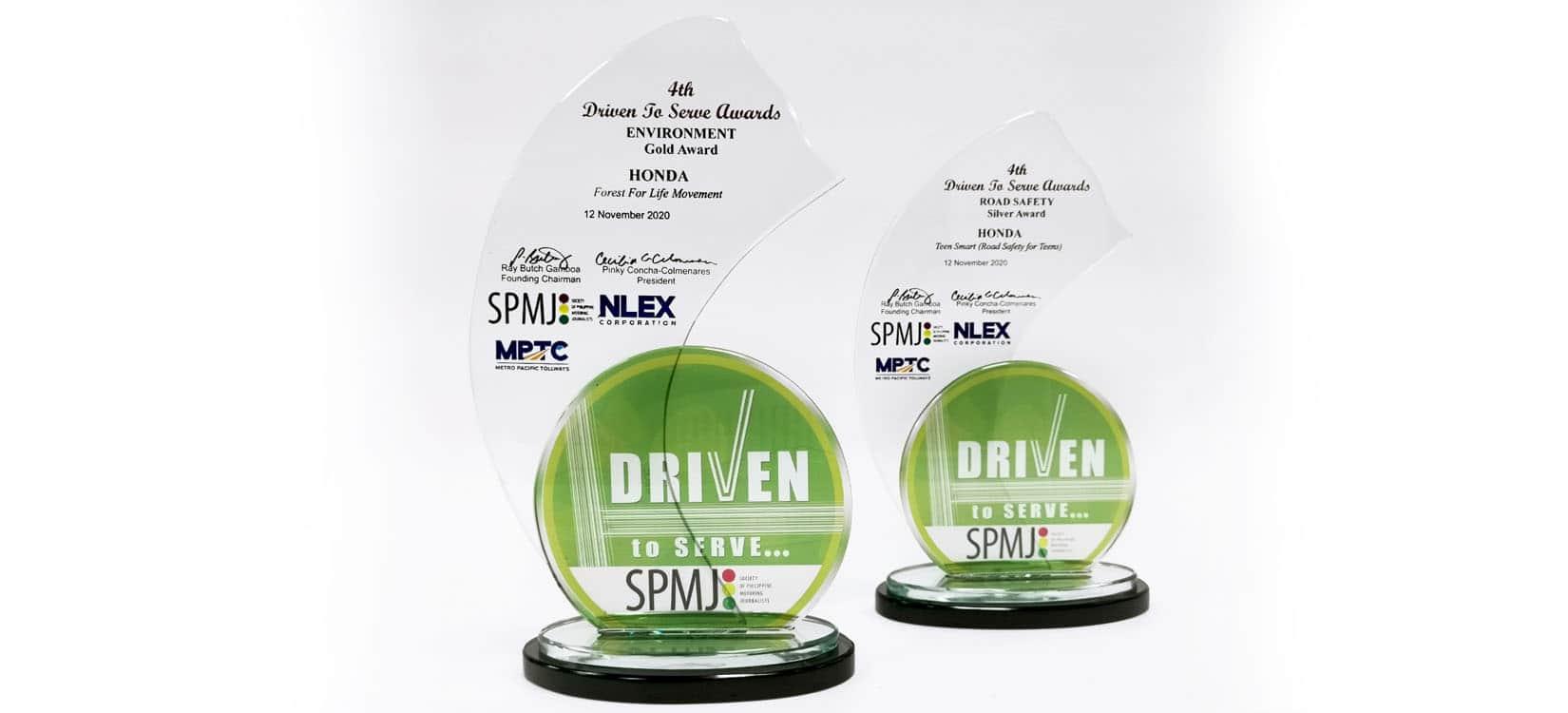 Honda's CSR efforts recognized at 4th SPMJ 'Driven to Serve' awards