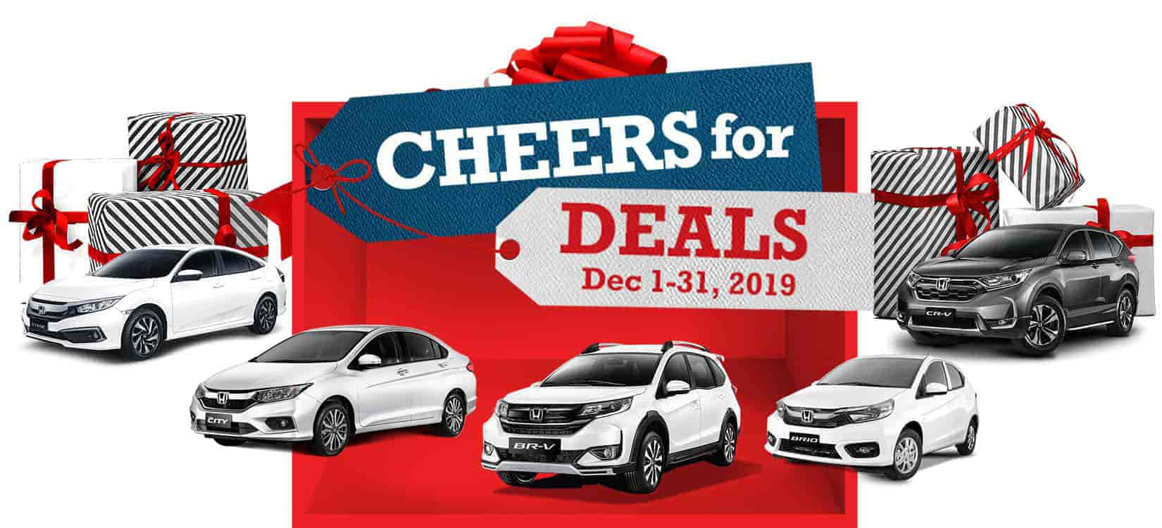 Get More Holiday Promos this December with Honda